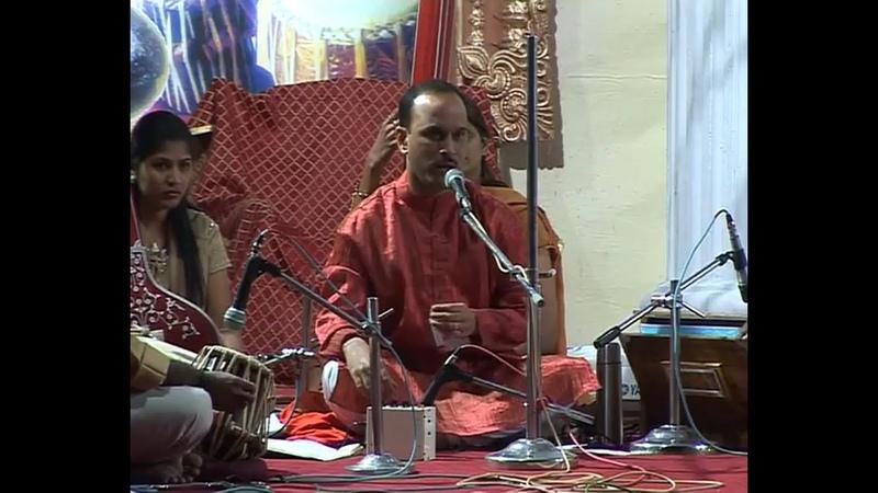 2004 1224 Evening Program eve of Christmas Puja Pune India