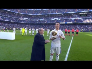 Криштиану Роналду представил свой 4-й Золотой Мяч