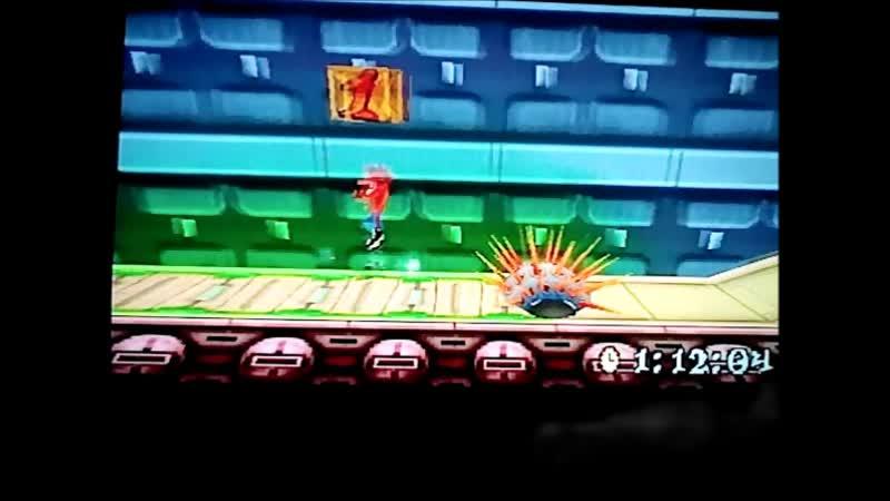 Crash Bandicoot 3: Warped (PAL). Time Trial.Future Frenzy.1:18:32.Platinum Relic