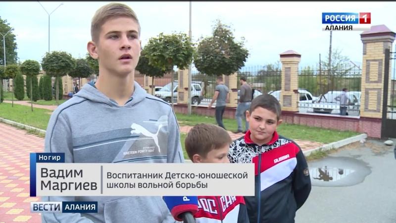30 юных борцов из Ногира и Эльхотово отдохнут в Крыму