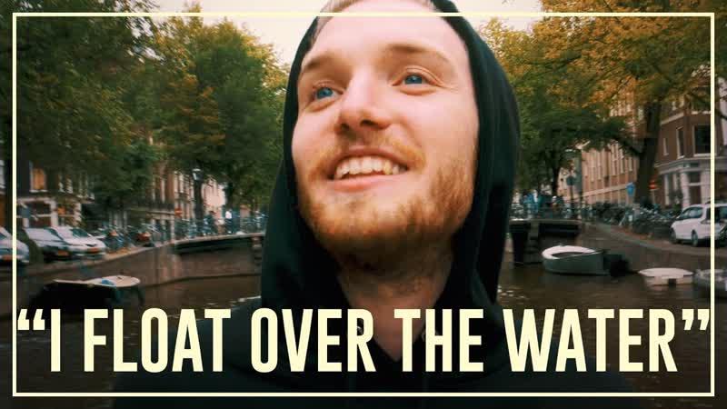 Бастиан ест трюфели на лодке в Амстердаме   Drugslab