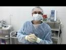 Наш хирург флеболог Фарит Хасянович Абляев перед проведением процедуры лечения варикоза радиоволновым методом РЧО