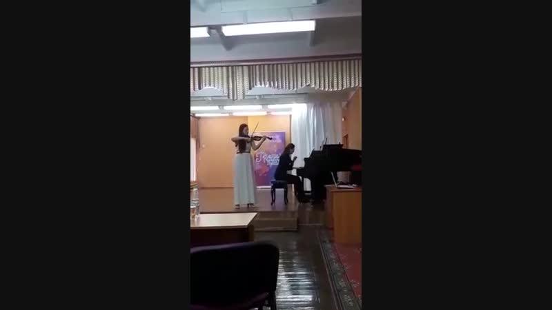 Бэла Барток Румынские танцы. Кашковская Елена, Казунина Кристина.