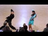 Artyom Liaskovsky - Ksenia Zaputriaeva, ISR ¦ Diamond Cup Antwerp 2018 - WO LAT - R3 S