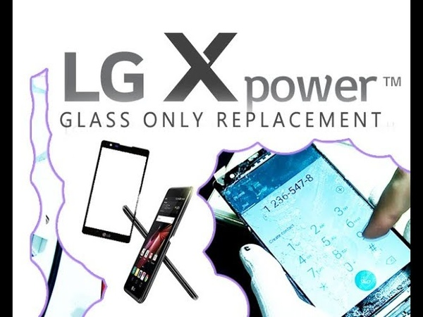 LG X POWER (K220) Glass Touch Digitizer Only Replacement Full Tutorial substituição do vidro