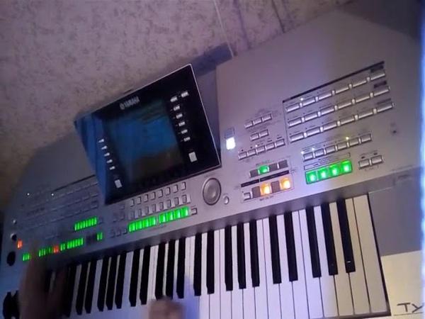 Саня Бон..,,Семь-Сорок,, (7-40) Yamaha tyros-2