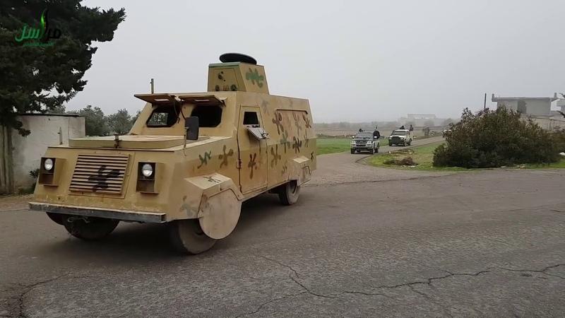 Бойня вИдлибе: подкрепления боевики CCА едут набойсХТШ-«Нусрой»