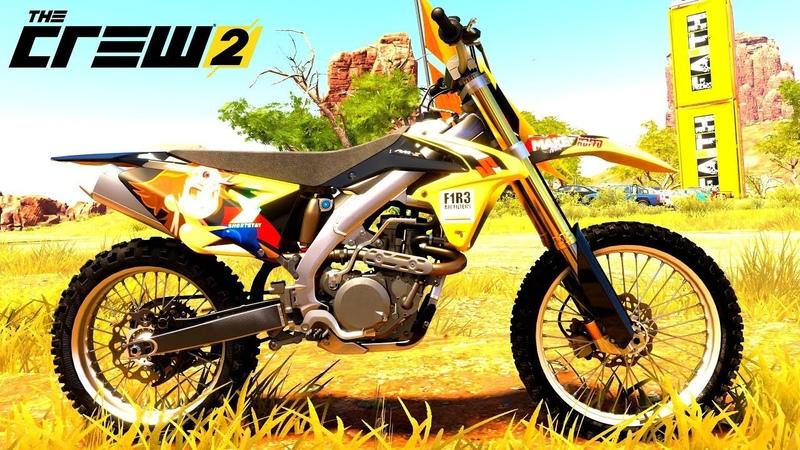 THE CREW 2 GOLD EDiTiON (TUNiNG) SUZUKI RM-Z450 PART 214 ...