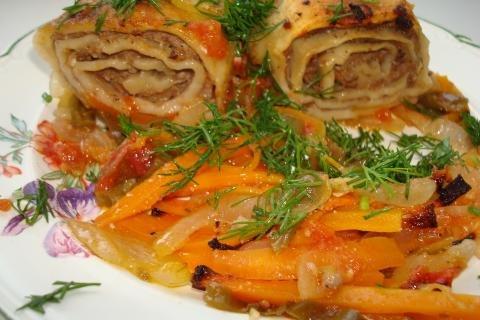 Горячие вторые блюда рецепты с фото простые