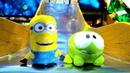 Giochi per bambini OmNom e Minions al parco Video con giocattoli