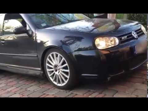 VW R32 MK4 BCRACING COILOVERS IS ON