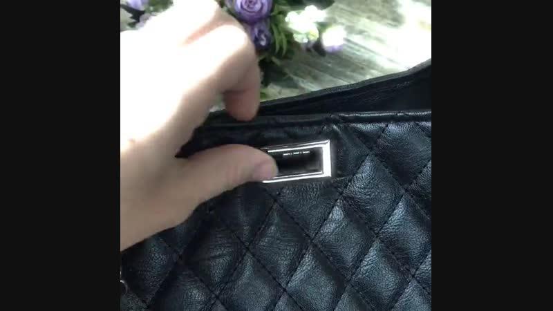 Элегантная сумочка из экокожи.