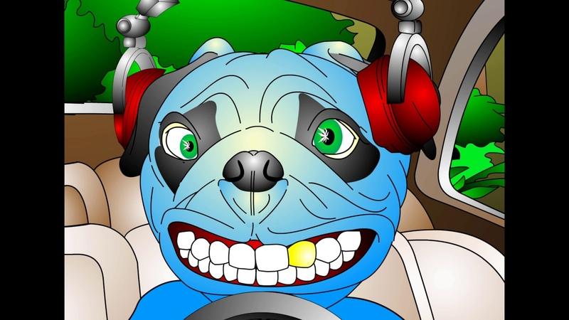 КРАСНАЯ ПЛЕСЕНЬ - CRAZY F@CK DOG. V2 COCOJAMBO UltraHD 4K Официальный клип.