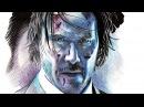John Wick Keanu Reves Speed Drawing