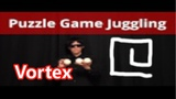 Puzzle Game Juggling 3 balls trick Vortex by Pazule(Japanese juggler)
