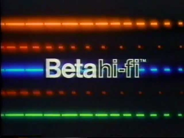1983 Sony Beta hi-fi Demonstration - Second Version