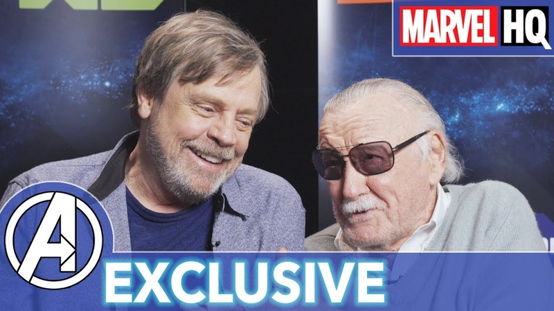 Stan Lee Mark Hamill Hang Out Marvel's Avengers Black Panther's Quest