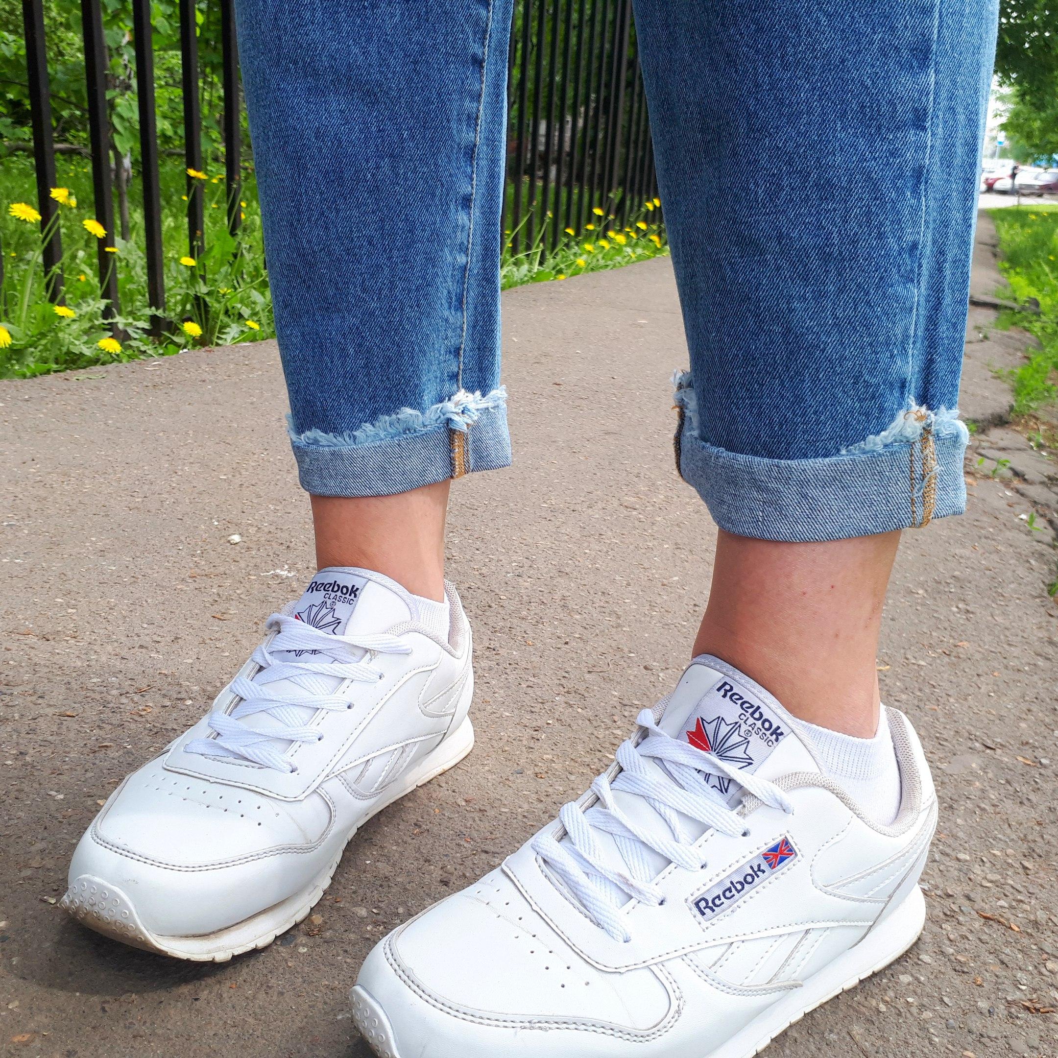 Идеальные качественные джинсы с красивой рваниной от магазина RejinaPyo