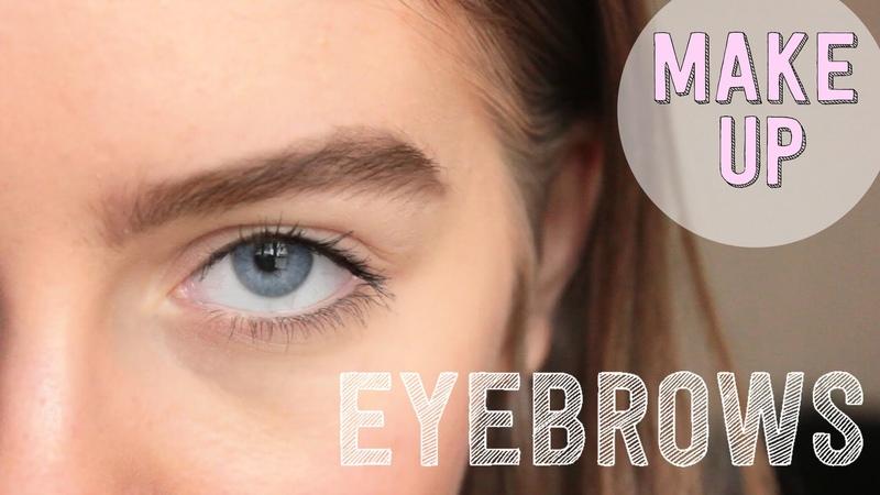 Натуральный макияж бровей / Natural eyebrow makeup   Beauty Blanc