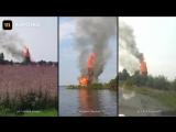 В Кондопоге сгорела уникальная церковь