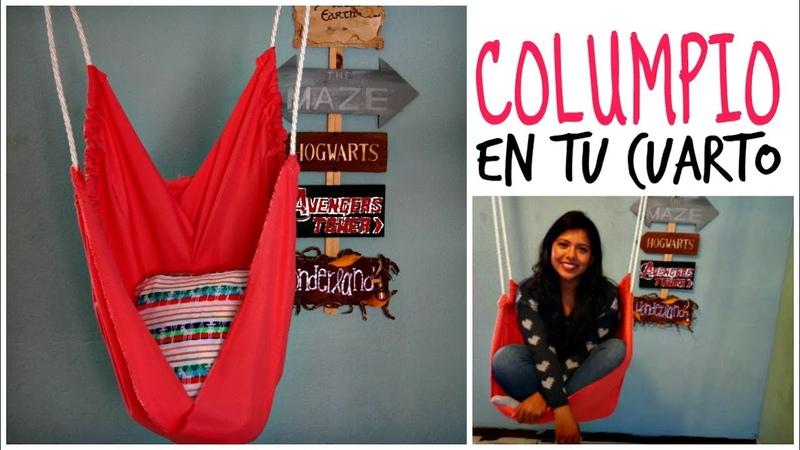 Haz un Columpio ❤ Decora tu cuarto   Ame Mayén