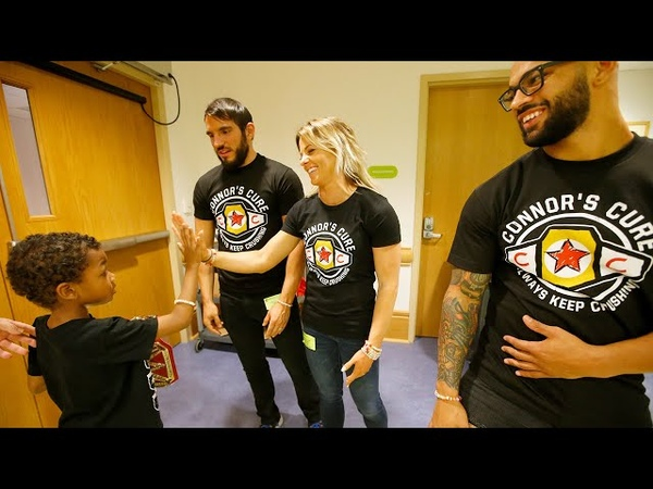 NXT Superstars bring smiles to kids' faces at UPMC Children's Hospital of Pittsburgh