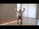 12 минутная тренировка на стуле Тренировка для пожилых 12 Min Chair Workout HASfit Chair Exercises for Seniors Seated Exercise