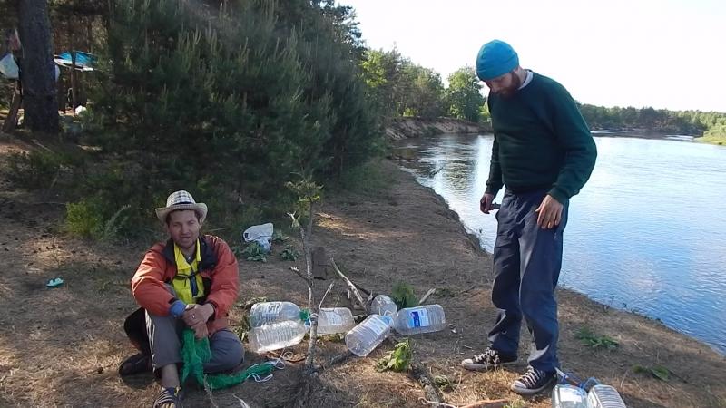 Плот на реке Клязьма. Воронцов Дмитрий готовится к сплаву на плоту. Речь перед заплывом. Лесной Сход АВП во Владимирской области