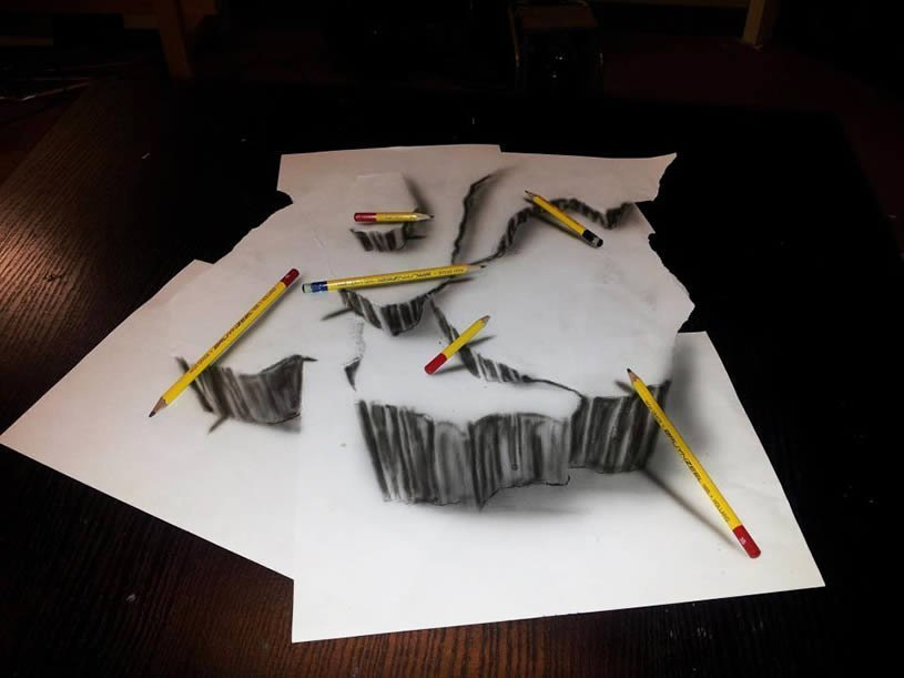 Великолепные 3D рисунки Ramon Bruin 8P79tyr5we0