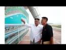 경애하는 최고령도자 김정은동지께서 원산갈마해안관광지구건설장을 현지지도하시였다
