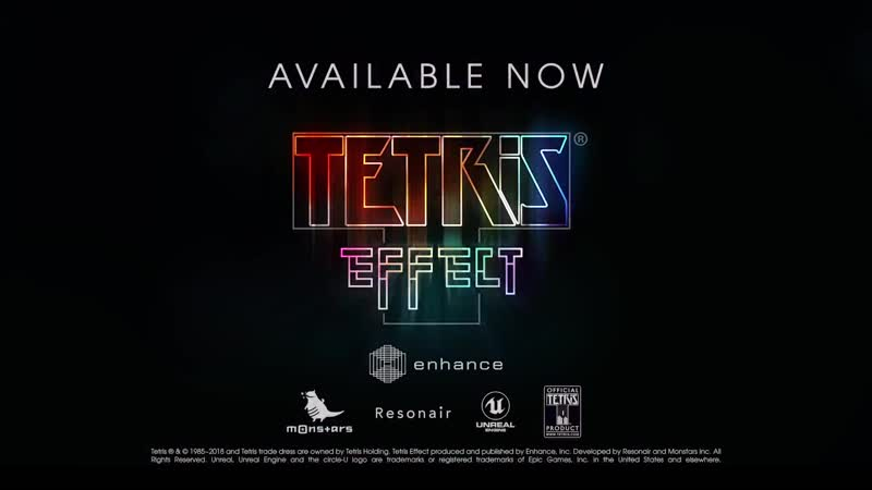 Tetris Effect - Accolades Trailer PS4, PS VR