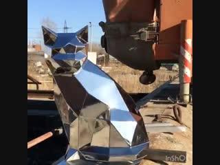 Кот из металла vk.com/svoimi_rukami_gif