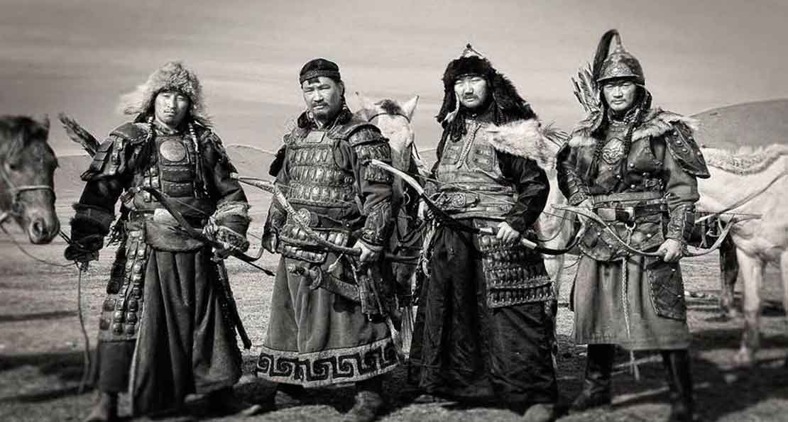 Воины гвардии Чингисхана