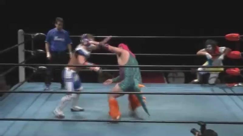 Chojin Yusha G Valion, Yuma vs. Dinosaur Takuma, Kotaro Yoshino (K-Dojo - Tokyo Big Show)