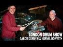 THUNder Duo - Gabor Dornyei Kornel Horvath London Drum Show Performance