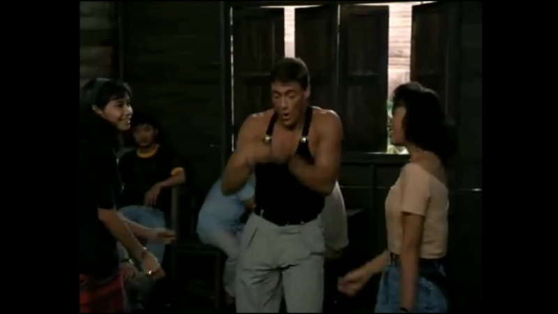 Kickboxer (1989, Jean Claude Van Damme dance) Holding out for a hero