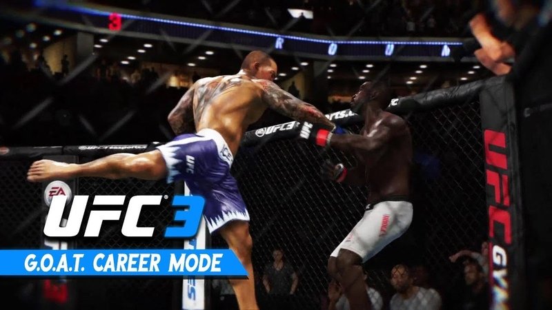 ISAAC FROST UFC 3 Career Mode - Ep 2 - FROSTS FIRST UFC FIGHT!!