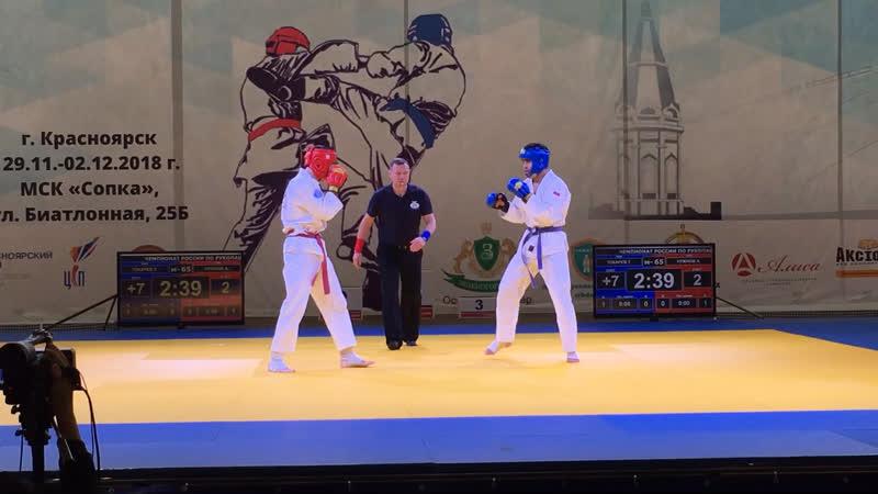 Чемпионат России финал 6 бой Тахир Токарев