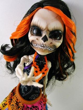 монстр хай инвиси билли кукла