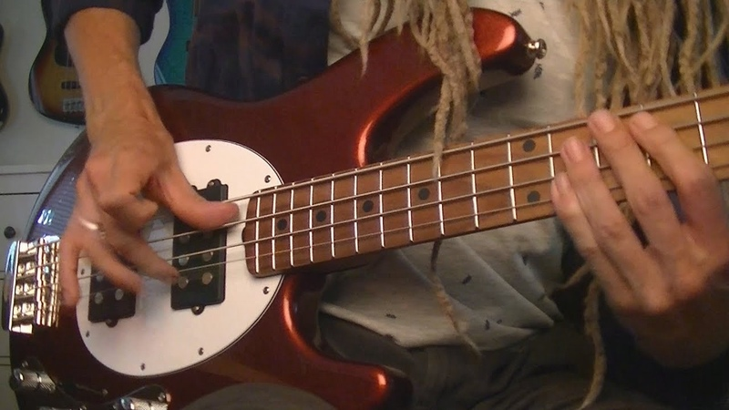 Funk Rock StingRay Bass Grooves