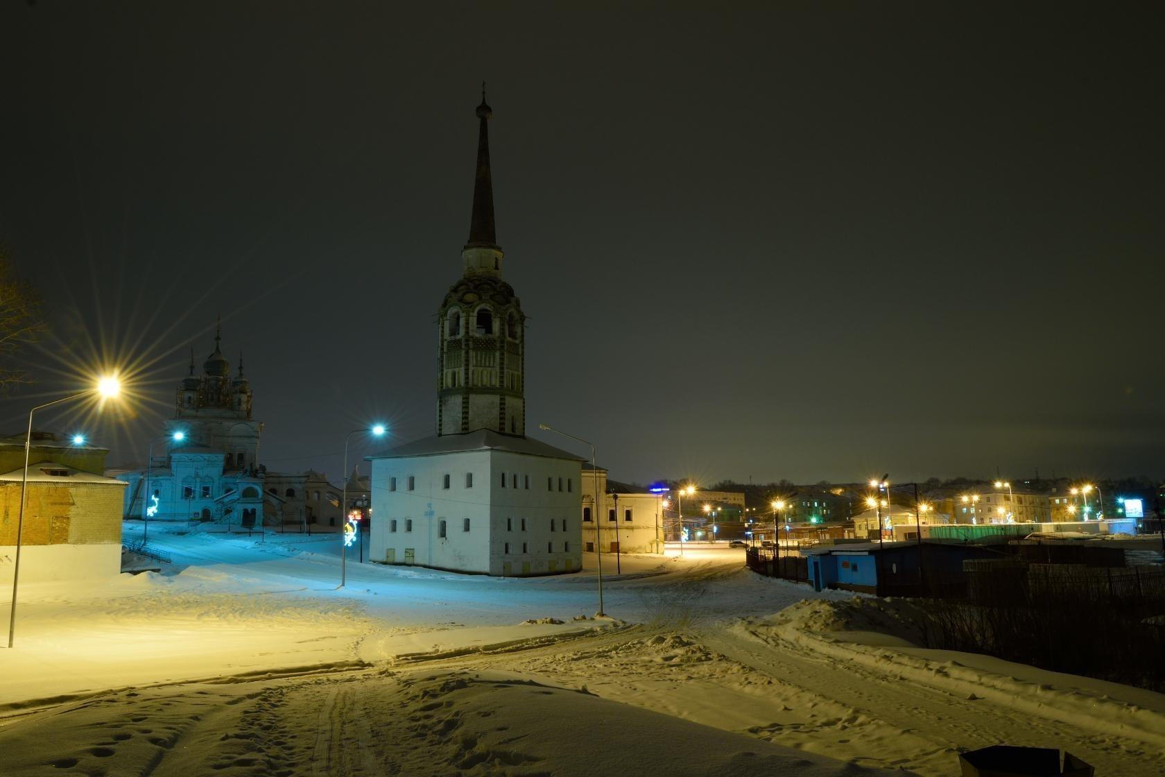 Спокойной ночи Соликамск!