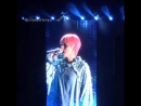 TAEHYUNG LOOKS SO BREATHTAKING IN THAT BEAUTIFUL OUTFIT HIS PINK HAIR WHILE SINGIN THE TRU