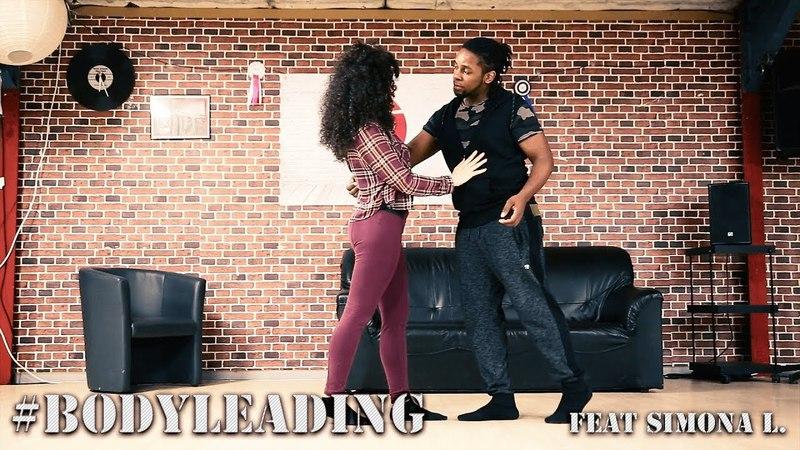 Urban Kizomba ■ Training Moment BodyLeading Feat Simona L.