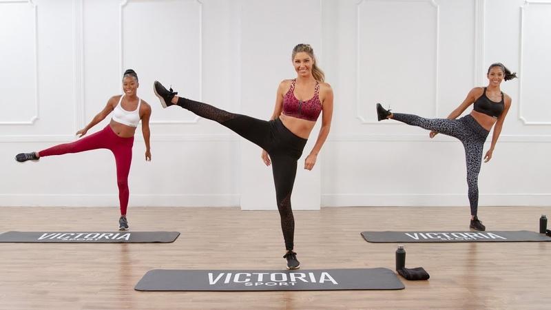 20-минутная тренировка пресса и ног от Victoria Sport. 20-Minute Victoria Sport Workout For Toned Abs and Legs