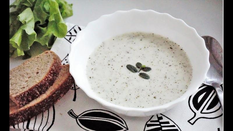 Йогуртовый суп с рисом и мятой. Турецкая кухняYogurt corbasi tarifi
