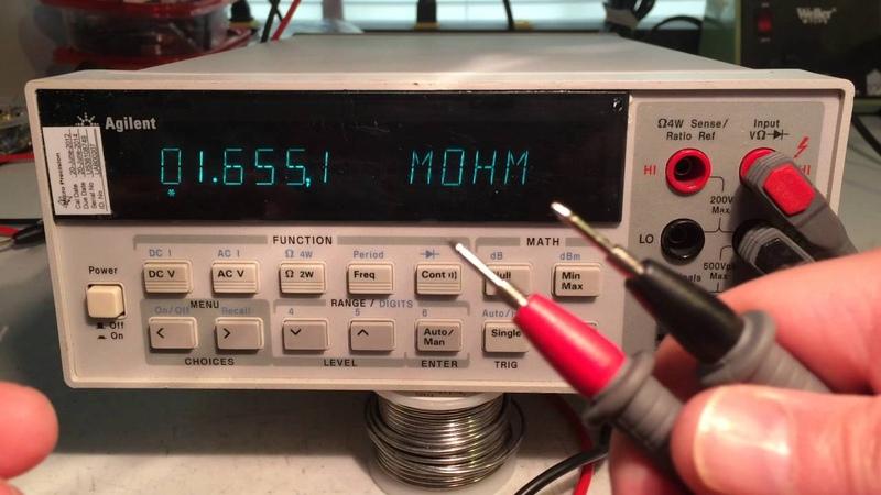 2 Repair of Agilent 34401A Multimeter