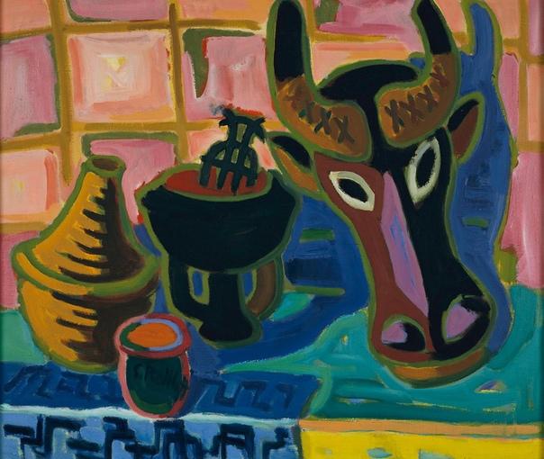 Karl Schmidt-Rottluff (1 декабря 1884-1976), Карл Шмидт-Ротлуф — немецкий художник-экспрессионист, один из теоретиков модернизма в живописи.