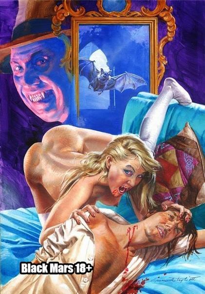Гремучая смесь секса, ужаса и стеба на обложках Эммануэля Таглиетти