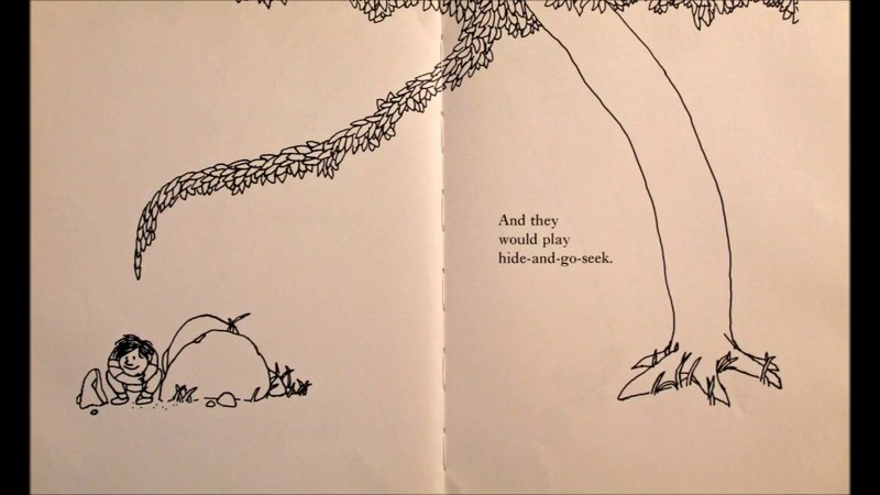 The Giving Tree by Shel Silverstein :Visible Text : Read Aloud : Children's Book