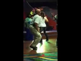 Old man dancing in nightclub (worldstar/facebook)